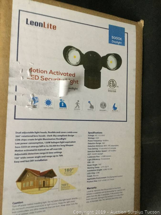 LeonLite Motion Activated Security Light